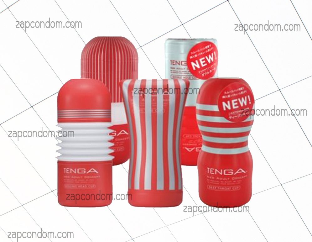 Combo TENGA Red Full Set