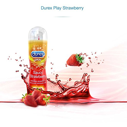 Durex Play Saucy Strawberry
