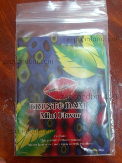 Latex-Dental-Dam-mint-Flavor