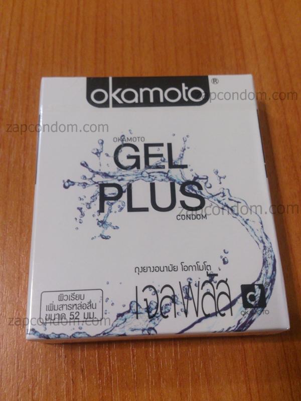 Okamoto Gel Plus 1 กล่อง