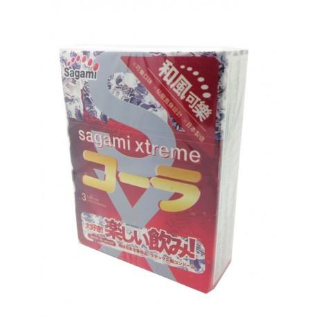 Sagami Xtreme Cola 1 กล่องมี 10 ชิ้น