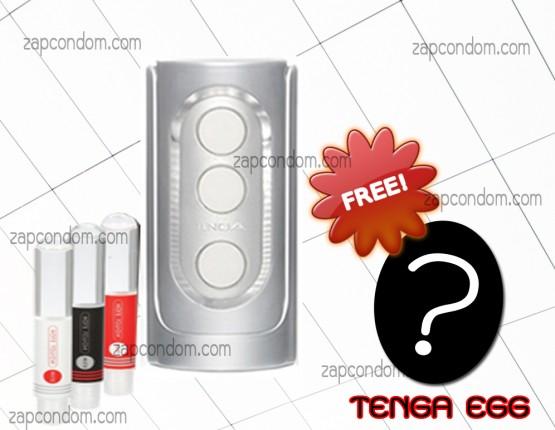 TENGA-FLIP-HOLE-SILVER-แถมเจล-Tenga-3-หลอด-และ-Tenga-Egg-1-ฟอง(สุ่ม)