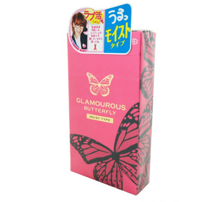 Glamourous Butterfly Moist Type 1ชิ้น