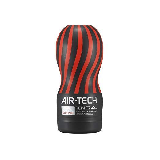 Tenga-Air-Tech-Black-(ล้างน้ำได้)