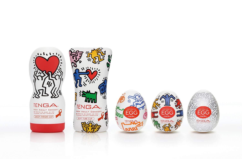 Tenga-Deep-Cup-Keith-Haring