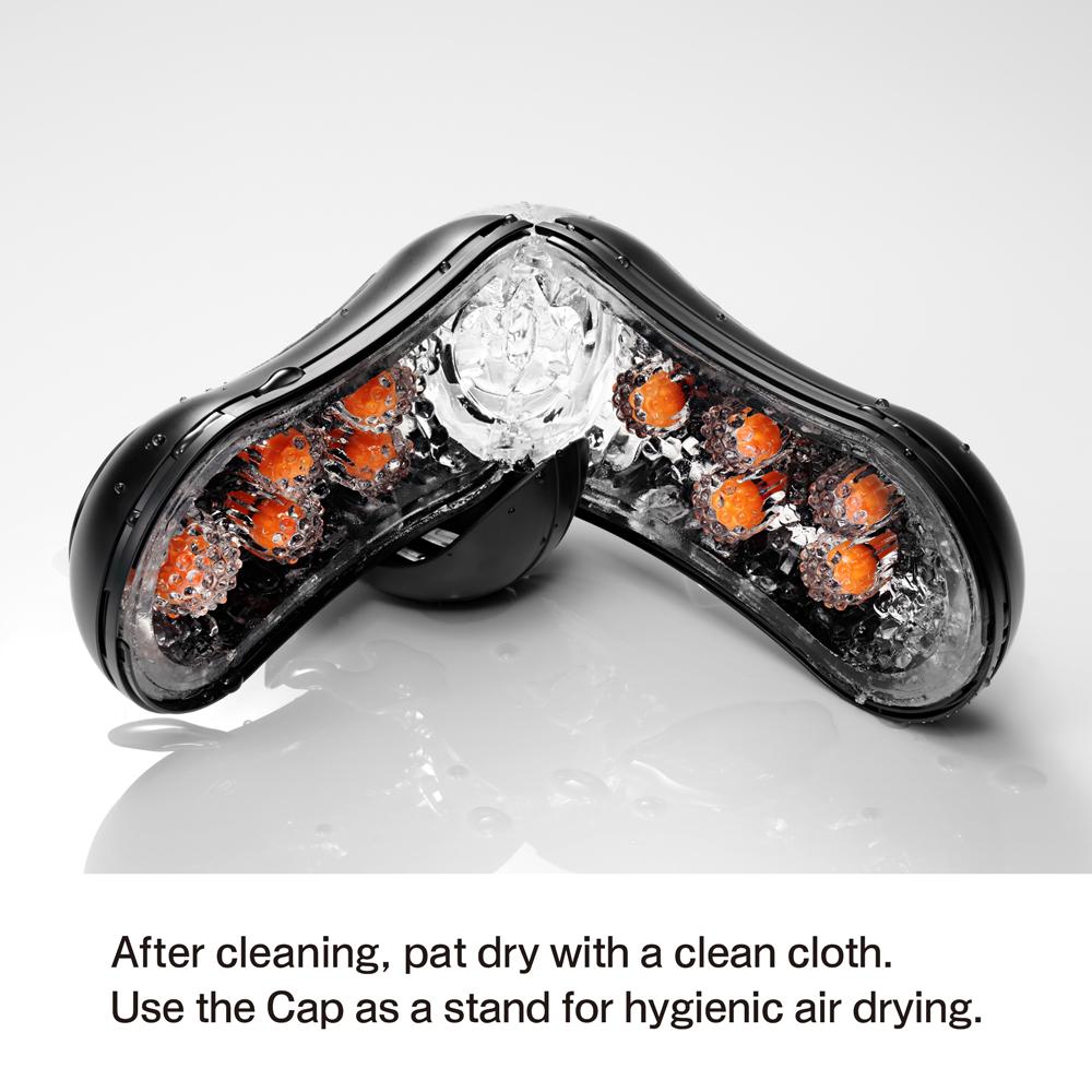 tenga-flip-orb -black-orange -crash